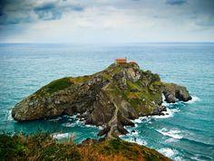 Isla Aketx, Basque Country, Spain jigsaw puzzle