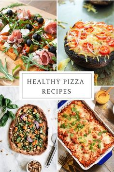 Pizza isn't the healthiest of dinners but we can fix that with some of these mouth-watering recipes!