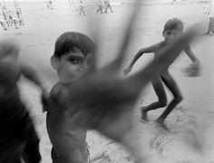 Carl De Keyzer. INDIA. Bombay. Chowpatty beach. 1985