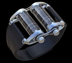 Time Capsule concept watch is ongoing project created by an industrial designer, Vladimer Kobakhidze.