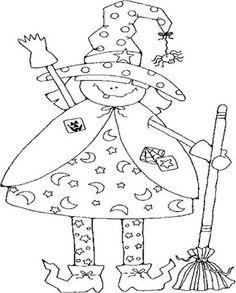 Bruxas-bruxinhas-desenho-pintura-colorir