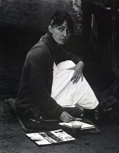 1918 Alfred Stieglitz - Portrait of Georgia O'Keefe