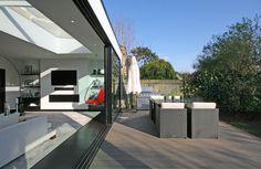 #Rear, #Extension, #Garden Rear Extension, Inside Outside, Open Plan Kitchen, Open Up, Extensions, Architecture Design, Gardens, Houses, Outdoor Decor