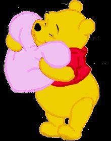animated gifs of Winnie the Pooh Disney Winnie The Pooh, Winne The Pooh, Winnie The Pooh Quotes, Animated Emojis, Love Wallpaper Backgrounds, Love Heart Gif, Smiley Emoji, Pooh Bear, Eeyore