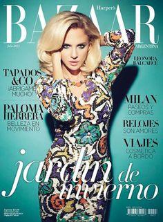 Harper's Bazaar Argentina July 2013   Leonora Balcarce