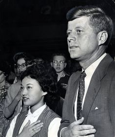 Kennedy September 27, 1963 in Oregon