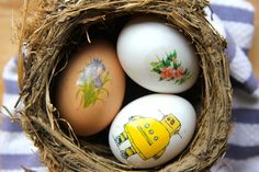 How to make: Mess Free Easter Eggs