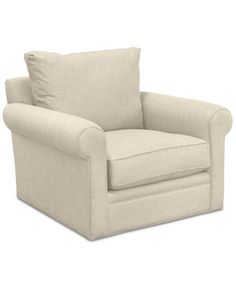 Dial II 44'' Swivel Chair | macys.com