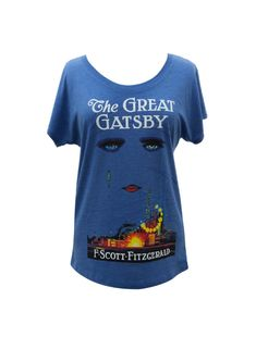 71b4b3a45 The Great Gatsby women's relaxed fit book t-shirt — Out of Print The Great