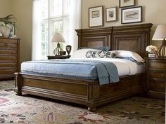 Better Homes and Gardens Classic Home Mantle Bedroom Set in Vintage...