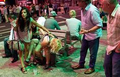 Maciej Dakowicz 'Cardiff After Dark' binge-drinking images turned Britain into laughing stock | Mail Online