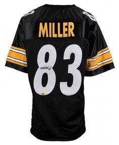 cc25ee81c Heath Miller Signed Pittsburgh Steelers Jersey – Miller Memorabilia  Steelers Raiders