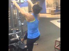 Sarah Bowmar Back Workout