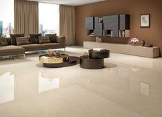 Living Room Colors, Home Living Room, Living Room Designs, Living Room Decor, Italian Marble Flooring, Elegant Living Room, House Tiles, Living Room Flooring, Home Room Design