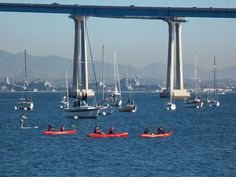 San Diego Harbor, Coronado Bridge. See more about California at staycationscalifornia.com or FOLLOW us at: https://www.facebook.com/staycationscalifornia