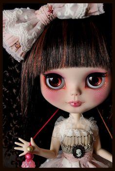 """~Tuppence~"" Brown eye chips by Clockwork_Angel, via Flickr"