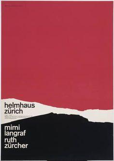 Walter Diethelm. Helmhaus Zürich. After 1954