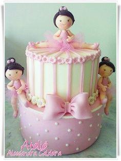 Cakes - Ballerina cakes on Pinterest