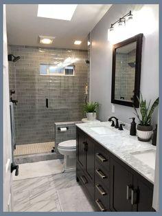 Bathroom Ideas Simple within Bathroom Cabinets Gumtree; Pictures Of Small Bathroom Shower Remodel Ideas since Bathroom Decor Hashtags Bathroom Tile Designs, Bathroom Design Small, Bathroom Interior Design, Modern Bathroom, Master Bathroom, Bathroom Ideas, Bathroom Organization, Budget Bathroom, Shower Bathroom