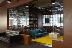 The Student Hotel Amsterdam West. Library, photo © Kasia Gatkowska x …,staat.
