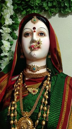 Gauri Decoration, Ganpati Decoration At Home, Princess Zelda, Fictional Characters, Fantasy Characters