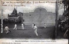 Cartes Postales Photos Une Partie de Pelote Basque au Fronton de Biarritz 64200 BIARRITZ pyrénées atlantiques (64)