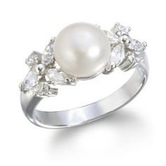 This ring is so beautiful! It is called the Freshwater Pearl Ring.