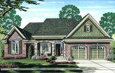 <!-- Generated by XStandard version 2.0.0.0 on 2014-07-02T14:52:17 --><ul><li>This house plan gives you both covered front and rear porches plus an open air deck in back to help you enjoy the fresh air.</li><li>The split bedroom layout maximizes your privacy.</li><li>The great room has an attractive tray ceiling with a gas fireplace and views to the rear. It is open to the kitchen with an island and walk-in pantry as well as the breakfast area.</li><li>The master bedroom has a private bath…