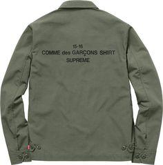 Supreme x COMME des GARCONS SHIRT