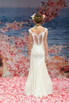 Claire Pettibone's New Wedding Dress Collection Is Paradise On Earth   OneWed