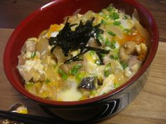 A Staple But Delicious! Oyako Don - Chicken and Egg Rice Bowl