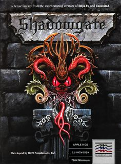 Shadowgate (Mac, PC, CD-i, Nintendo, Game Boy Color, Commodore Amiga