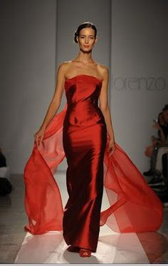 purchase a couture dress and crazy shoes just once for a night out.pretty woman minus the whole working girl angle. Red Fashion, Couture Fashion, Fashion Dresses, Maxi Dresses, Couture Dresses, Party Fashion, Fashion Tips, Winter Trends, Beautiful Gowns