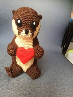 Ravelry: Otter pattern by KaBon Creations