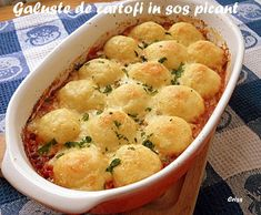 Romanian Food, Tasty, Yummy Food, Potato Recipes, Soul Food, Casserole Recipes, Macaroni And Cheese, Food To Make, Food And Drink