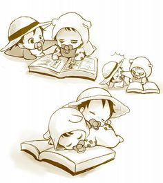 ONE PIECE Law & Luffy