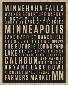 What a wonderful city to live in! Love Minneapolis