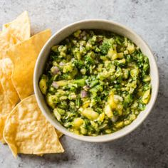 Pineapple Salsa recipe from Cook's Country