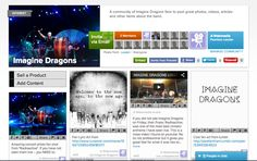 Join the Imagine Dragons community for another place to share links, photos, videos, soundclouds, etc