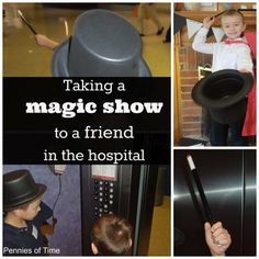 Pennies of Time: Helping a Friend Who Is Chronically Ill with a Magic Show