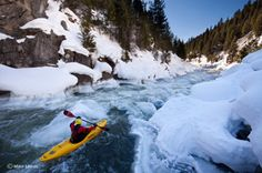 photos by mike leeds and tim kemple of kayaker erik boomer on oregon's mackenzie river Mackenzie River, Whitewater Kayaking, Sun Valley, Rafting, Nature Photos, The Great Outdoors, Film Festival, Places To See, Cool Photos