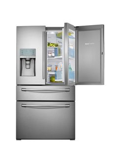 This fridge with a special two-part door is a fraction of the cost of similar models that can retail in the five figures