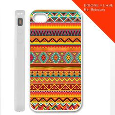 aztec orange love for iphone 4 and iphone