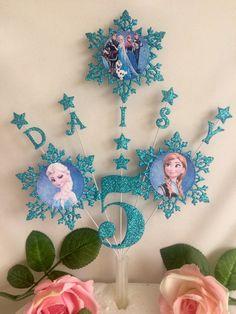 Frozen Birthday Banner, Frozen Themed Birthday Party, Disney Frozen Birthday, Birthday Party Themes, Princess Party Decorations, Birthday Decorations, Cumple De Frozen Ideas, Birthday Accessories, Frozen Cake