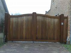 Afbeeldingsresultaat voor houten poortje