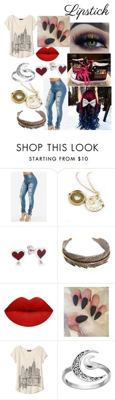 """I'm weird? Okay, define 'normal'."" by entoanlblast ❤ liked on Polyvore featuring beauty, Disney Couture, Hollywood Trading Company, BHCosmetics, Banana Republic and Primrose"