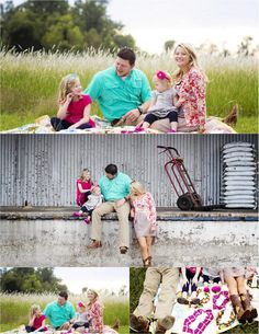 Family Picture Ideas: Rural