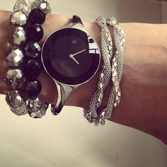ck watch with bracelets