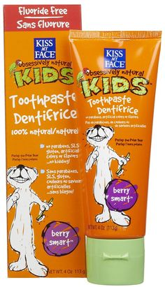 Kiss My Face Fluoride Free Toothpaste for Kids 4 oz