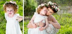 Adorable flower girl!   Erin Costa Photography   Borrowed and Bleu